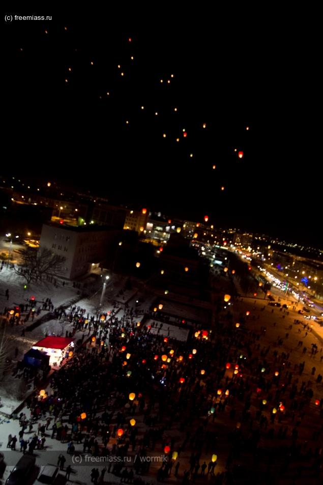 фестиваль небесных фонариков, день города, день города миасс, миасс, в миассе, фьёрди в миассе, ючи в миассе, новости миасс, день города, день города 2012, день города 239 лет