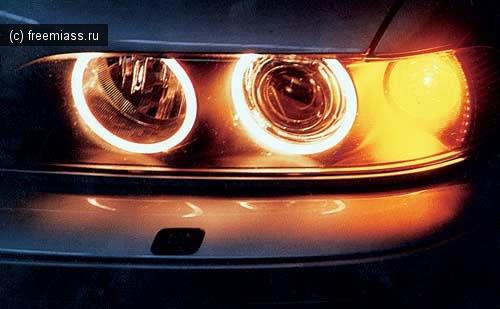 миасс, BMW, фары, лазерные фары, новые разработки