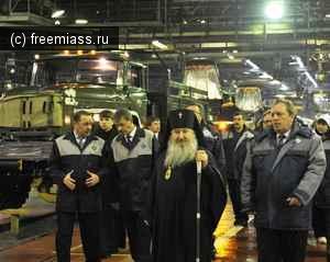 Архиепископ Челябинский и Златоустовский Феофан посетил АЗ «Урал»