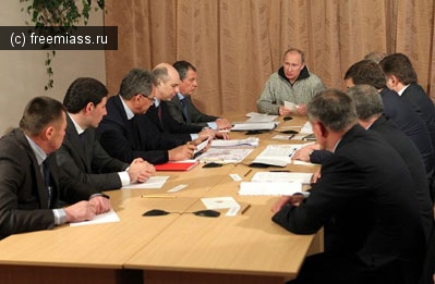 Путин на совещании в Коркино: «Всем, кто здесь собрался, должно быть стыдно»