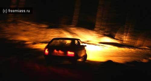 Заблудились на ночной дороге